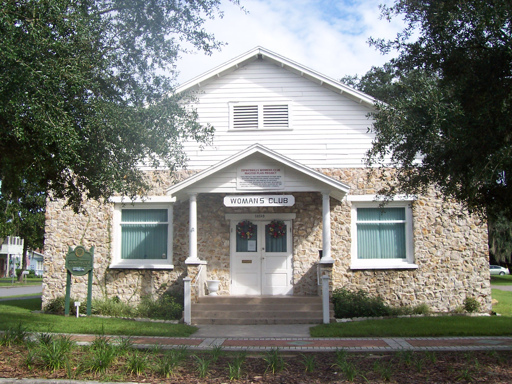 zephyrhills womans club house